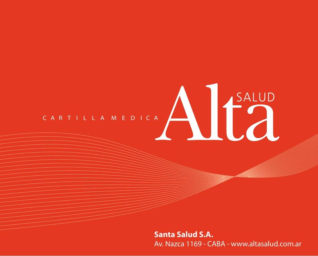 Alta Salud - Cartilla